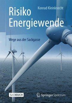 Risiko Energiewende - Kleinknecht, Konrad