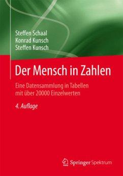 Der Mensch in Zahlen - Schaal, Steffen; Kunsch, Konrad; Kunsch, Steffen