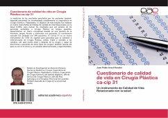 Cuestionario de calidad de vida en Cirugía Plástica ca-cip 31