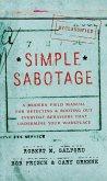 Simple Sabotage (eBook, ePUB)