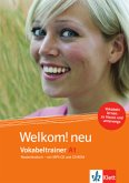 Vokabeltrainer A1, CD-ROM + Heft + MP3-CD / Welkom! neu - Niederländisch für Anfänger