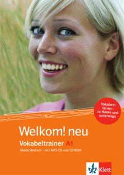 Vokabeltrainer A1, CD-ROM + Heft + MP3-CD / Wel...
