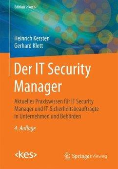 Der IT Security Manager - Kersten, Heinrich;Klett, Gerhard
