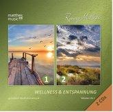 Wellness & Entspannung (1 & 2)-Gemafrei (2 Cds)