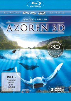 Azoren - Auf den Spuren von ... Entdeckern - Walen - Vulkanen (Blu-ray 3D, 3 Discs) - N/A