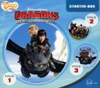 Dragons - Die Reiter von Berk - Dragons Starter-Box, 3 Audio-CD