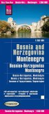 World Mapping Project Reise Know-How Landkarte Bosnien-Herzegowina, Montenegro (1:350.000); Bosnia and Herzegovina, Mont