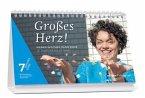 7 Wochen ohne - Großes Herz!, Tagestischkalender 2016