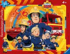 Ravensburger 06114 Sam, der Feuerwehrmann, 48 Teile Rahmenpuzzle