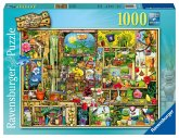 Ravensburger 19482 - Grandioses Gartenregal, 1000 Teile Puzzle