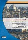 Das türkische Patentsystem und strategische Optionen für ein KMU oder Start-up: Wissenswertes über Patentangelegenheiten in der Türkei