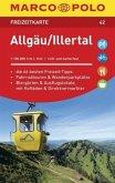 MARCO POLO Freizeitkarte Allgäu, Illertal 1:100 000