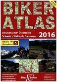 Biker Atlas 500 Motorradtouren aus D, A, CH, IT