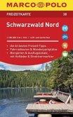MARCO POLO Freizeitkarte Schwarzwald Nord 1:100 000