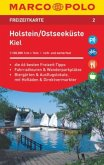 MARCO POLO Freizeitkarte Holstein, Ostseeküste, Kiel 1:100 000