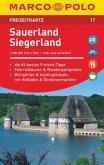 MARCO POLO Freizeitkarte Sauerland, Siegerland 1:100 000