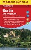 MARCO POLO Freizeitkarte Berlin und Umgebung 1:100 000