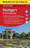 MARCO POLO Freizeitkarte Stuttgart und Umgebung
