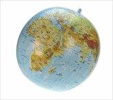 Topographischer Globus