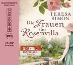 Die Frauen der Rosenvilla, 1 MP3-CD (DAISY-Edition)
