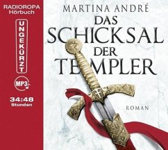 Das Schicksal der Templer / Die Templer Bd.3 (MP3-CD) - André, Martina