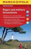 MARCO POLO Freizeitkarte Rügen und mittlere Ostseeküste 1:100 000