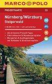 MARCO POLO Freizeitkarte Nürnberg, Würzburg, Steigerwald 1:100 000