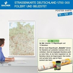 Bacher Poster Postleitzahlen Deutschland