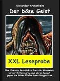 XXL LESEPROBE - Der böse Geist (eBook, ePUB)
