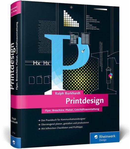 printdesign von ralph burkhardt fachbuch b. Black Bedroom Furniture Sets. Home Design Ideas