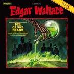 Der grüne Brand, 1 Audio-CD / Edgar Wallace, Audio-CDs Tl.4