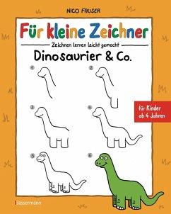 Für kleine Zeichner - Dinosaurier & Co. (eBook, ePUB) - Fauser, Nico