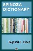 Spinoza Dictionary (eBook, ePUB)