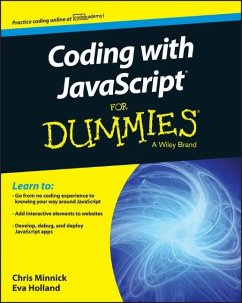 Coding with JavaScript For Dummies (eBook, PDF) - Minnick, Chris; Holland, Eva