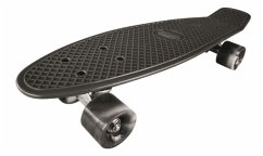 MTS 500213 - Streetsurfing Beach Board 22, Skateboard, Whipe Out Schwarz