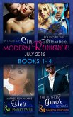 Modern Romance July 2015 Books 1-4: The Ruthless Greek's Return / Bound by the Billionaire's Baby / Married for Amari's Heir / A Taste of Sin (eBook, ePUB)