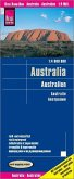 Reise Know-How Landkarte Australien / Australia / Australie