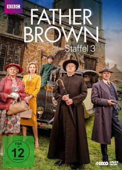 Father Brown - Staffel 3 (4 Discs) - Williams,Mark/Carroll,Nancy/Cusack,Sorcha