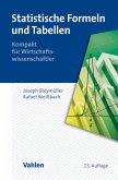 Statistische Formeln und Tabellen (eBook, PDF)