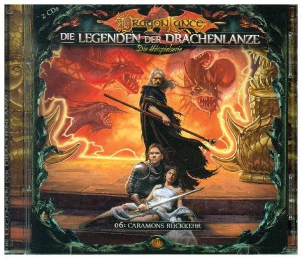 Die Legenden der Drachenlanze - Caramons Rückkehr, 2 Audio-CDs - Holy, David