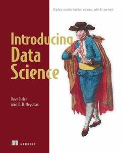 Introducing Data Science - Cielen, David; Meysman, Arno D. B.