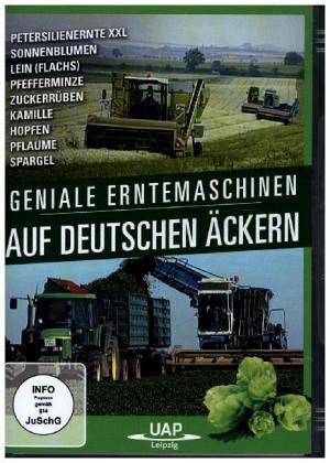 geniale erntemaschinen auf deutschen ckern 1 dvd auf dvd. Black Bedroom Furniture Sets. Home Design Ideas