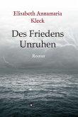 Des Friedens Unruhen (eBook, ePUB)
