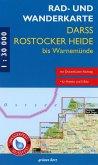 Rad- und Wanderkarte Rostocker Heide, Darß