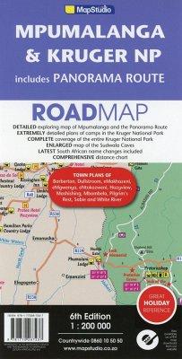 Mpumalanga, Kruger NP & Panorama Route 1 : 200 000