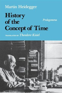 History of the Concept of Time (eBook, ePUB) - Heidegger, Martin