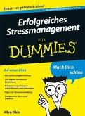 Erfolgreiches Stressmanagement für Dummies (eBook, ePUB)