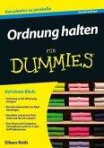 Ordnung halten für Dummies (eBook, ePUB)