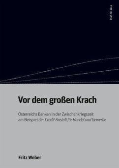 Vor dem großen Krach - Weber, Fritz