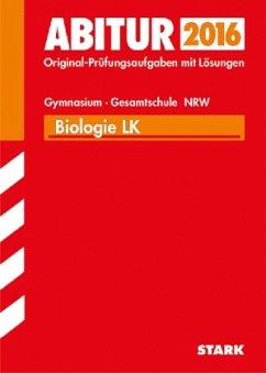 Abitur 2016 - Biologie LK, Gymnasium / Gesamtschule Nordrhein-Westfalen